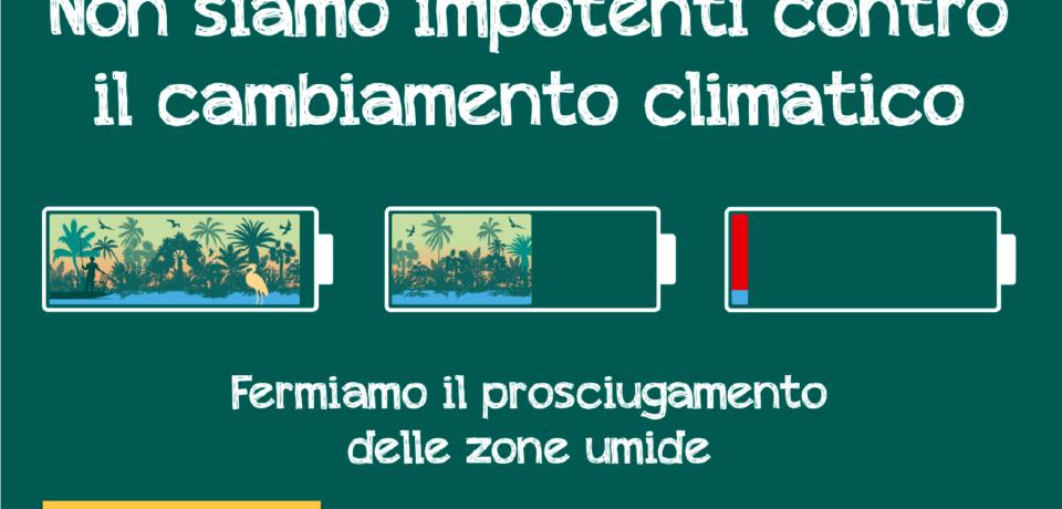 Iniziativa dedicata alle zone umide